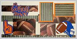 Its Football Season (Blue Orange)